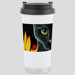 Cat 510 Stainless Steel Travel Mug