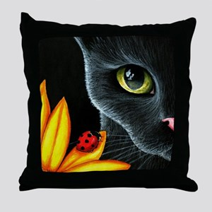 Cat 510 Throw Pillow