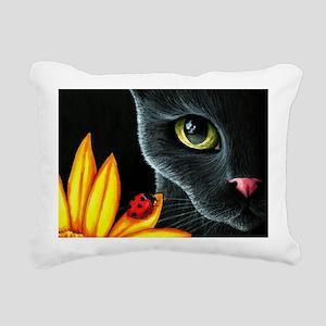 Cat 510 Rectangular Canvas Pillow