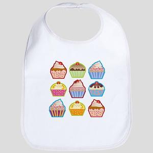 Cute Cupcakes Bib