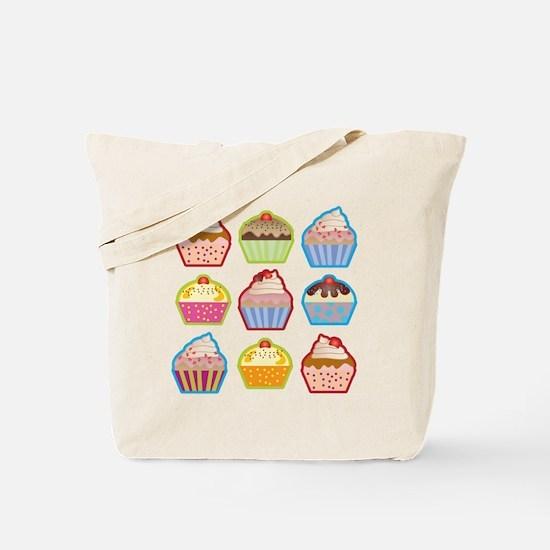Cute Cupcakes Tote Bag