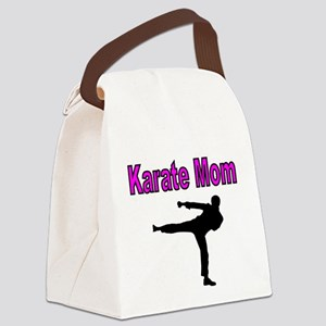 KARATE MOM 2 Canvas Lunch Bag