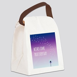 Wishes come true every day Canvas Lunch Bag