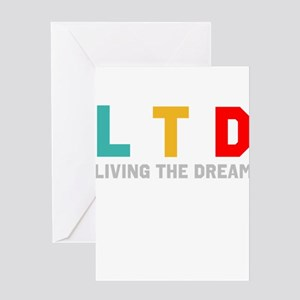 Living the Dream Greeting Cards