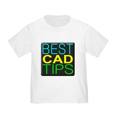 Best CAD Tips Logo T-Shirt