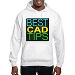 Best CAD Tips Logo Hoodie