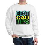 Best CAD Tips Logo Sweatshirt