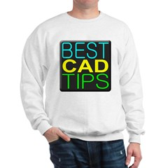 Best CAD Tips Logo Sweatshirt