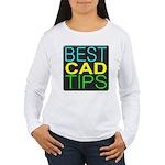 Best CAD Tips Logo Long Sleeve T-Shirt