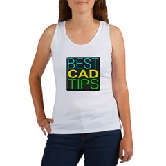 Best CAD Tips Logo Tank Top