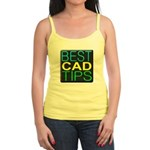 Best CAD Tips Logo Tank Top