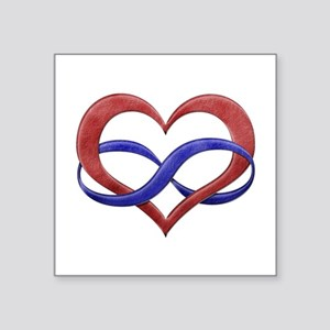 Polyamory Heart Sticker