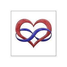 Polyamory Heart Sticker