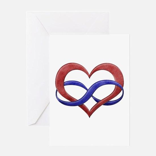 Polyamory Heart Greeting Card