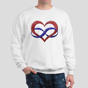 Polyamory Heart Sweatshirt