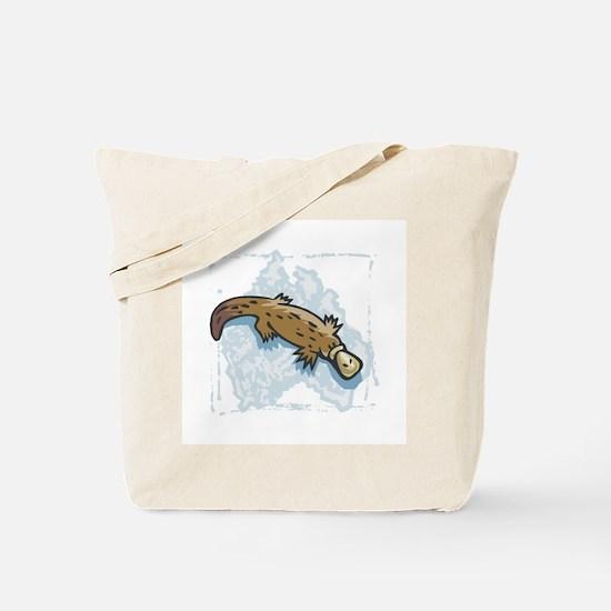 Australian Duckbill Platypus Tote Bag