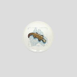Australian Duckbill Platypus Mini Button
