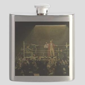 Vintage Sports Boxing Flask