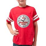 gentime2_dark2 Youth Football Shirt