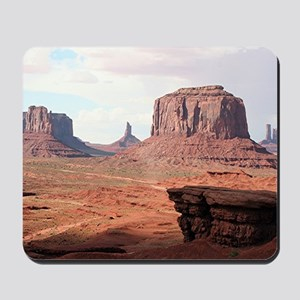 Monument Valley, John Ford's Point, Utah Mousepad