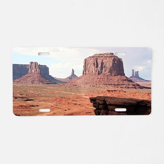 Monument Valley, John Ford' Aluminum License Plate