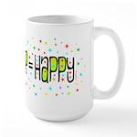 HOOP=HAPPY Large Mug