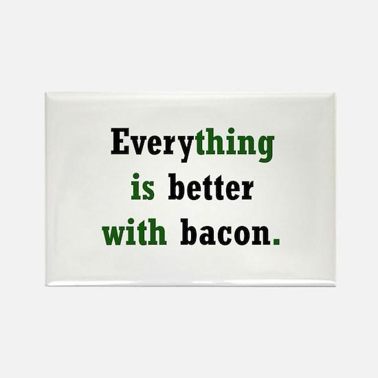 Bacon Lover Rectangle Magnet