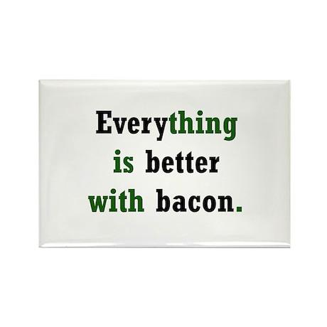 Bacon Lover Rectangle Magnet (100 pack)