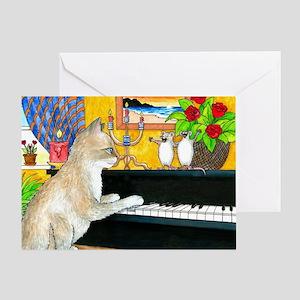 Cat 506 Greeting Card