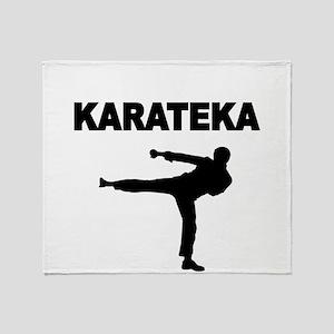 KARATEKA Throw Blanket