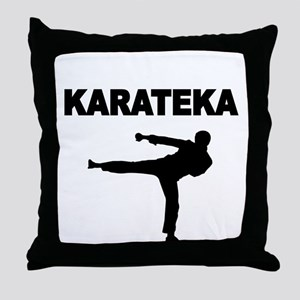 KARATEKA Throw Pillow