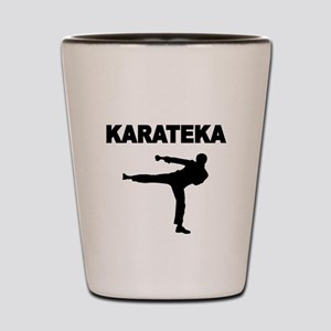KARATEKA Shot Glass