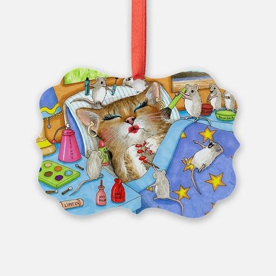 Cat 508 Ornament