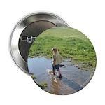 Girl splashing Button