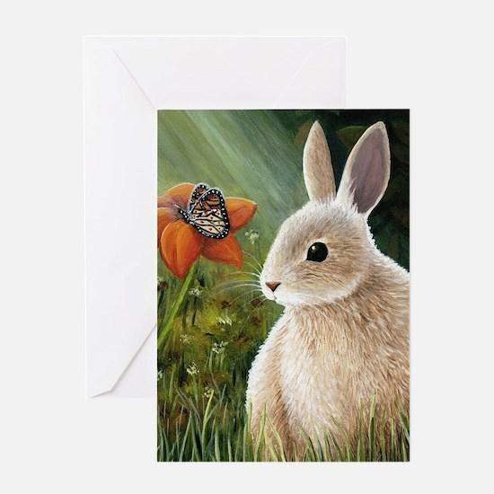 Hare 55 Greeting Card