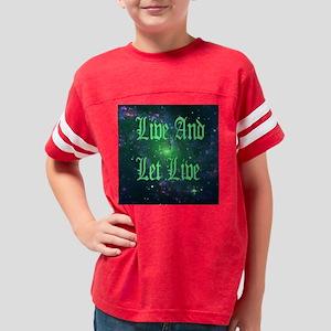 liveandletlive_2000x2000 Youth Football Shirt