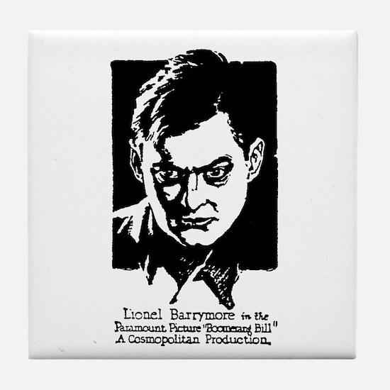Lionel Barrymore Tile Coaster