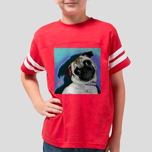 PugMug6 Youth Football Shirt