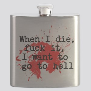 Notorious BIG Hip Hop Flask