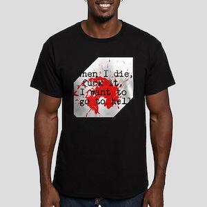Notorious BIG Hip Hop Men's Fitted T-Shirt (dark)