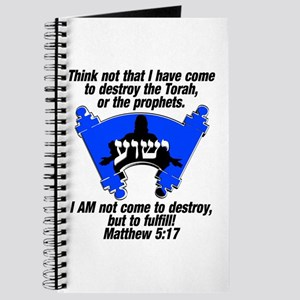 Torah Fulfilled! Journal