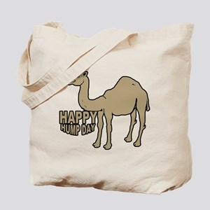 Camel happy hump day Tote Bag
