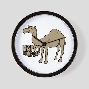 Camel happy hump day Wall Clock