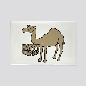 Camel happy hump day Rectangle Magnet
