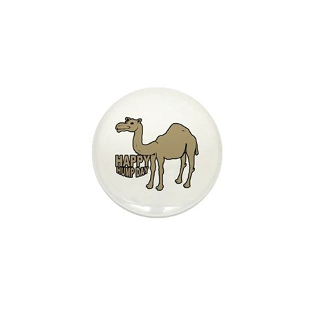 Camel happy hump day Mini Button (10 pack)