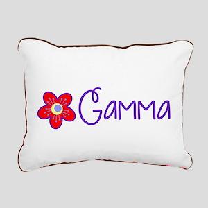 My Fun Gamma Rectangular Canvas Pillow