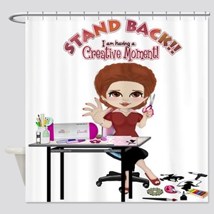 Creative Moment Shower Curtain