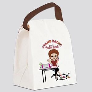 Creative Moment Canvas Lunch Bag