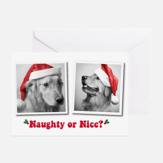 Naughty or Nice? Greeting Cards (Pk of 10)