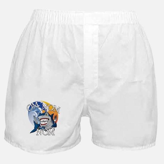 Om Nom Nom Boxer Shorts